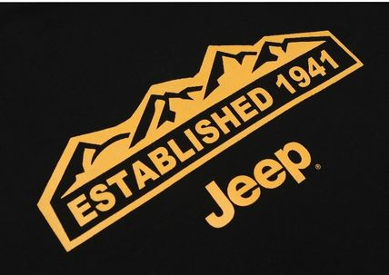 JEEP More T-Shirts Unisex Street Style Plain Co-ord T-Shirts 9