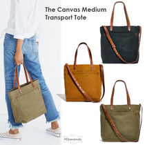 Madewell Casual Style Canvas 2WAY Plain Totes