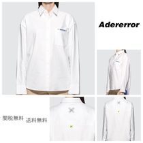 ADERERROR Unisex Collaboration Long Sleeves Shirts & Blouses