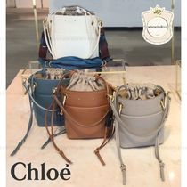 Chloe Casual Style Plain Leather Purses Bags