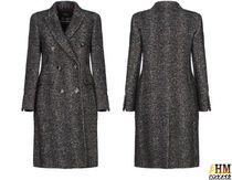 MaxMara Zigzag Wool Tweed Nylon Medium Office Style Elegant Style