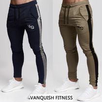 VANQUISH FITNESS Tapered Pants Sweat Street Style Plain Tapered Pants