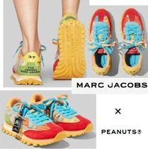 MARC JACOBS Lace-up Casual Style Collaboration Low-Top Sneakers