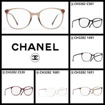 CHANEL Square Eyeglasses