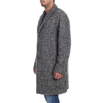 HERNO Wool Long Front Button Chester Coats