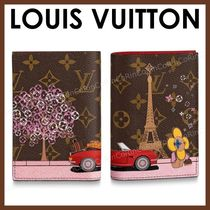 Louis Vuitton Unisex Passport Cases