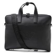 EMPORIO ARMANI A4 2WAY PVC Clothing Business & Briefcases