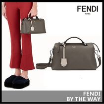 FENDI BY THE WAY Casual Style Leather Elegant Style Bags