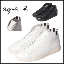 Agnes b Casual Style Unisex Street Style Plain Low-Top Sneakers