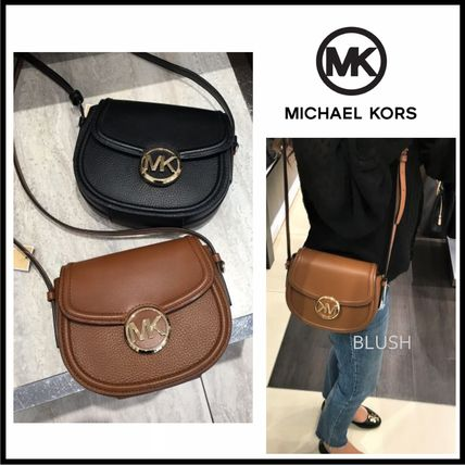 Monogram Casual Style 3WAY Plain Leather Shoulder Bags