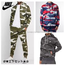 Nike Street Style Oversized Co-ord Sweats Two-Piece Sets