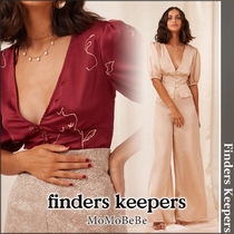 Finders Keepers Casual Style Medium Short Sleeves Shirts & Blouses