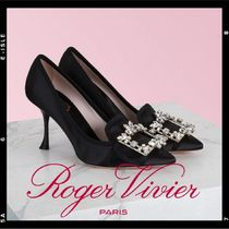 Roger Vivier Plain High Heel Pumps & Mules