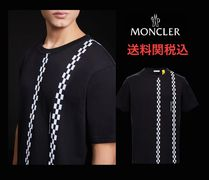 MONCLER MONCLER GENIUS Street Style Collaboration Plain Cotton Short Sleeves