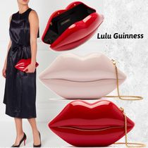 Lulu Guinness 2WAY Chain Plain Party Style Clutches