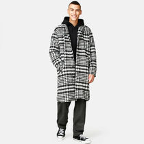 SWEET SKTBS Zigzag Street Style Long Chester Coats