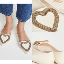 Ron Herman Heart Pointed Toe Pumps & Mules