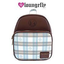 LOUNGE FLY Casual Style Plain Backpacks