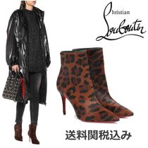 Christian Louboutin Other Animal Patterns Leather Pin Heels With Jewels