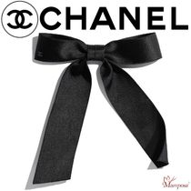 CHANEL Costume Jewelry Blended Fabrics Street Style Party Style