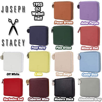 Unisex Street Style Plain Logo Folding Wallets