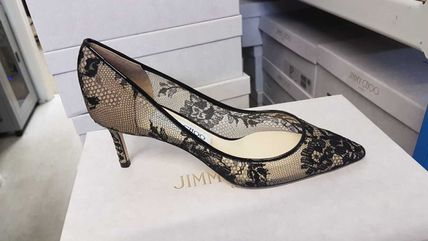 Jimmy Choo Formal Style  Pin Heels Party Style Office Style