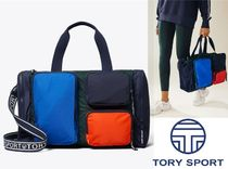 Tory Burch Unisex Nylon A4 2WAY Boston & Duffles