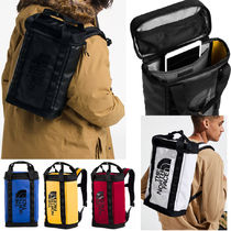 THE NORTH FACE Unisex Street Style A4 2WAY Plain PVC Clothing Backpacks