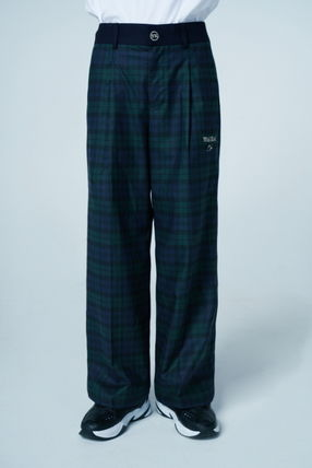 Wai Kei Other Plaid Patterns Casual Style Unisex Street Style
