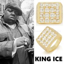 King Ice Unisex Street Style Collaboration Rings