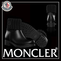 MONCLER Rubber Sole Casual Style Blended Fabrics Plain PVC Clothing