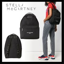 Stella McCartney STELLA LOGO Casual Style Backpacks