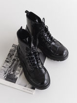Mountain Boots Round Toe Rubber Sole Casual Style Unisex