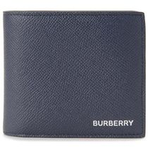 Burberry Plain Logo Folding Wallets