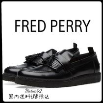 FRED PERRY Plain Leather Oxfords