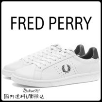 FRED PERRY Street Style Plain Sneakers