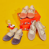 SHOOPEN Collaboration Kids Girl Ballet Flats