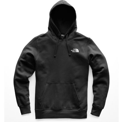 THE NORTH FACE Hoodies Pullovers Street Style Long Sleeves Plain Cotton Hoodies 2