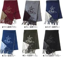 Vivienne Westwood Wool Collaboration Plain Heavy Scarves & Shawls