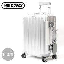 RIMOWA TOPAS Unisex 1-3 Days TSA Lock Carry-on Luggage & Travel Bags