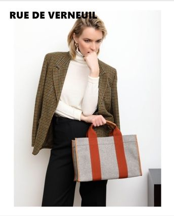 Canvas A4 Elegant Style Totes