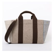 RUE DE VERNEUIL Casual Style Unisex A4 Totes