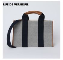 RUE DE VERNEUIL Unisex Office Style Totes