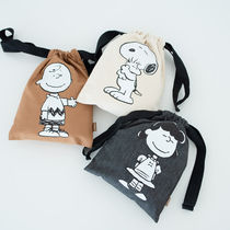 SHOOPEN Unisex Collaboration Pouches & Cosmetic Bags