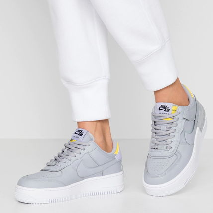 Nike AIR FORCE 1 2019 20AW Casual Style Street Style Plain Leather Low Top Sneakers (CI0919 002)