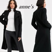 ASOS Casual Style Plain Long Office Style Chester Coats