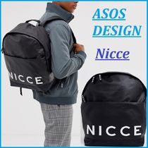 ASOS Faux Fur Street Style Collaboration Plain Backpacks