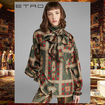 ETRO Silk Long Sleeves Shirts & Blouses