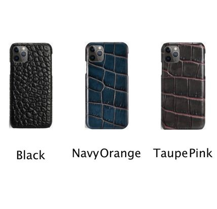 Unisex Other Animal Patterns Leather Handmade iPhone 11 Pro