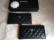 CHANEL Leather Pouches & Cosmetic Bags